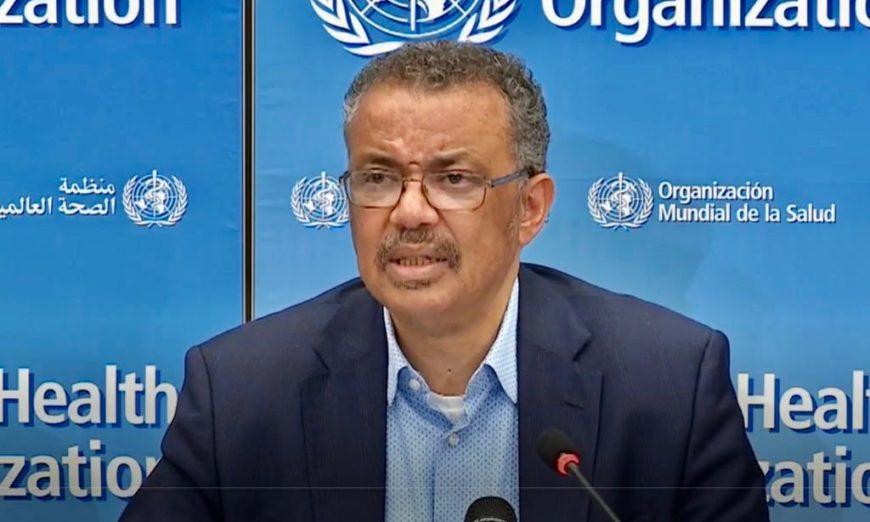 La OMS reclama compromiso político para evitar la propagación del virus
